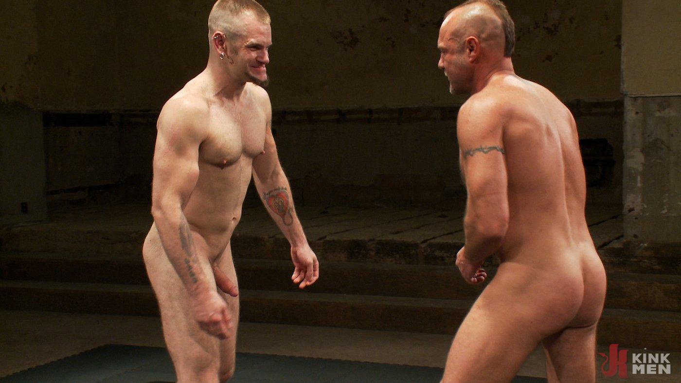 Photo number 15 from Tober's Back! shot for Naked Kombat on Kink.com. Featuring Chad Brock and Tober Brandt in hardcore BDSM & Fetish porn.