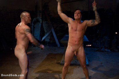 Photo number 10 from The Grave Robber - Halloween Update shot for Bound Gods on Kink.com. Featuring Parker London and Brenn Wyson in hardcore BDSM & Fetish porn.