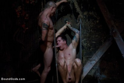 Photo number 7 from The Grave Robber - Halloween Update shot for Bound Gods on Kink.com. Featuring Parker London and Brenn Wyson in hardcore BDSM & Fetish porn.