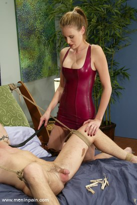 Photo number 7 from Dick Richards and Audrey Leigh shot for Men In Pain on Kink.com. Featuring Audrey Leigh and Dick Richards in hardcore BDSM & Fetish porn.