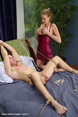Photo number 9 from Dick Richards and Audrey Leigh shot for Men In Pain on Kink.com. Featuring Audrey Leigh and Dick Richards in hardcore BDSM & Fetish porn.