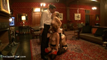 Photo number 11 from Mistress Aiden Starr shot for The Upper Floor on Kink.com. Featuring Aiden Starr, Iona Grace and Lilla Katt in hardcore BDSM & Fetish porn.
