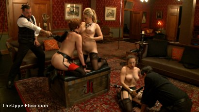 Photo number 13 from Mistress Aiden Starr shot for The Upper Floor on Kink.com. Featuring Aiden Starr, Iona Grace and Lilla Katt in hardcore BDSM & Fetish porn.