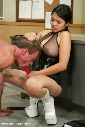 Photo number 2 from Mika Tan, Ivy and Wild Bill shot for Men In Pain on Kink.com. Featuring Mika Tan, Ivy and Wild Bill in hardcore BDSM & Fetish porn.