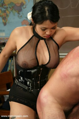 Photo number 9 from Mika Tan, Ivy and Wild Bill shot for Men In Pain on Kink.com. Featuring Mika Tan, Ivy and Wild Bill in hardcore BDSM & Fetish porn.