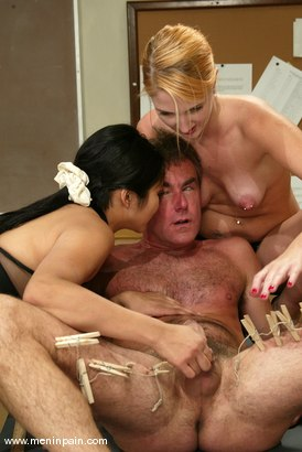 Photo number 6 from Mika Tan, Ivy and Wild Bill shot for Men In Pain on Kink.com. Featuring Mika Tan, Ivy and Wild Bill in hardcore BDSM & Fetish porn.