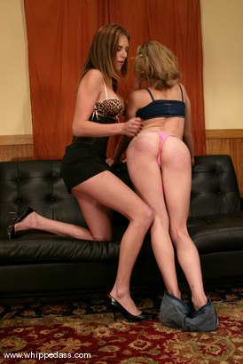 Photo number 3 from Cloe Hart and Audrey Leigh shot for Whipped Ass on Kink.com. Featuring Audrey Leigh and Cloe Hart in hardcore BDSM & Fetish porn.