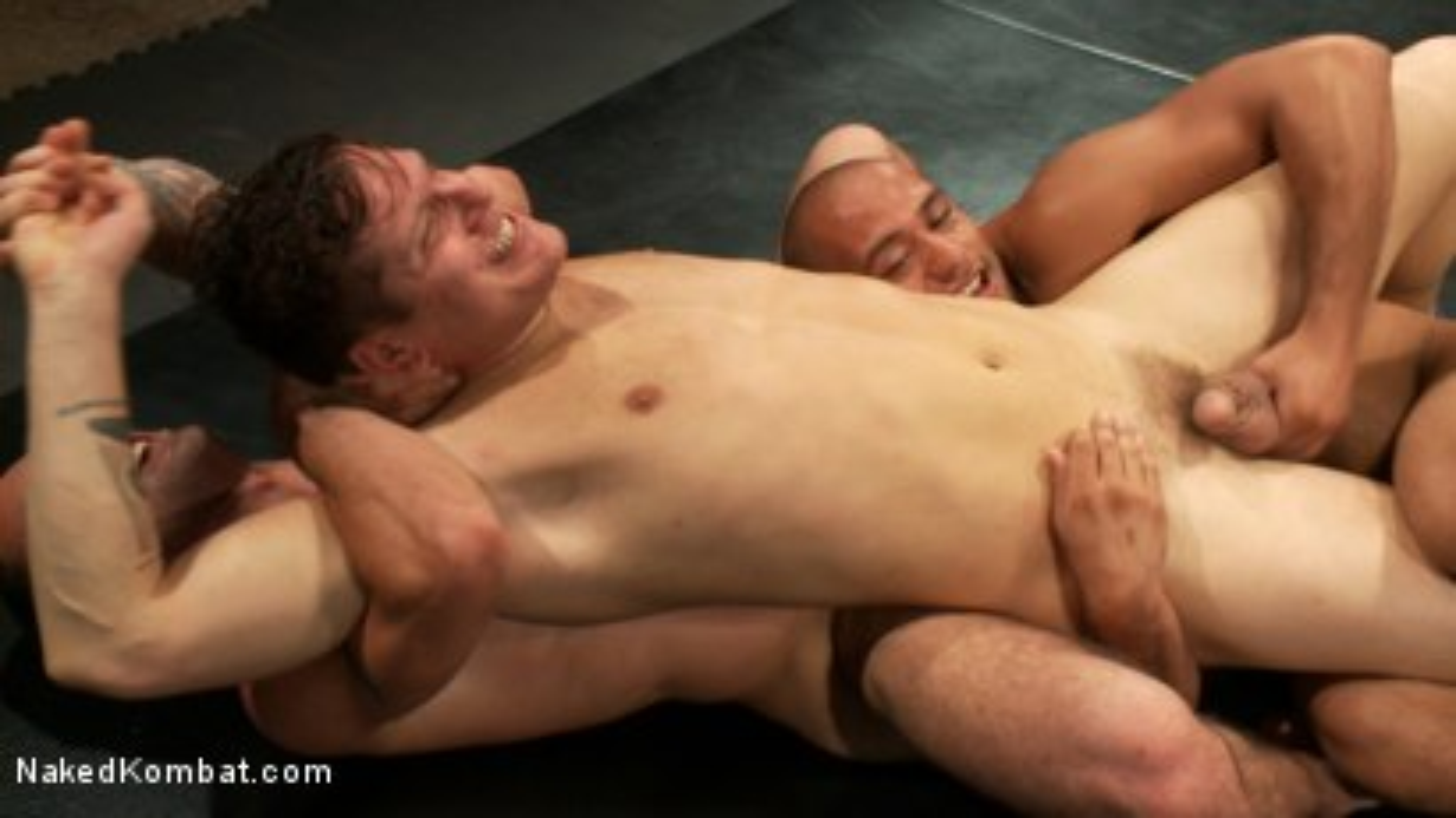 Photo number 9 from Intense Live Tag-Team Match! shot for nakedkombat on Kink.com. Featuring Parker London, Brenn Wyson, Leo Forte, DJ and Blake Daniels in hardcore BDSM & Fetish porn.