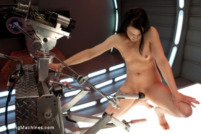 Photo number 4 from Alien Pussy Eaters and Other Robots shot for Fucking Machines on Kink.com. Featuring Cheyenne Jewel in hardcore BDSM & Fetish porn.
