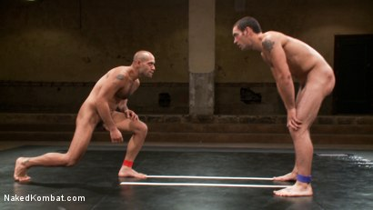 Photo number 5 from DJ vs Leo Forte - Rematch! shot for Naked Kombat on Kink.com. Featuring DJ and Leo Forte in hardcore BDSM & Fetish porn.