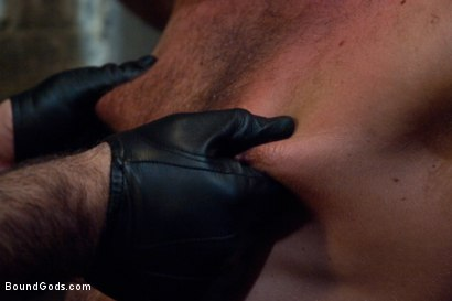 Photo number 8 from The Most Violent Orgasm in Bound Gods History shot for Bound Gods on Kink.com. Featuring Spencer Reed and Jessie Colter in hardcore BDSM & Fetish porn.