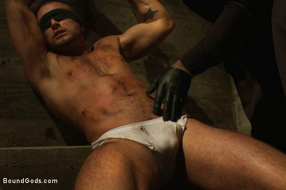 Photo number 2 from The Most Violent Orgasm in Bound Gods History shot for Bound Gods on Kink.com. Featuring Spencer Reed and Jessie Colter in hardcore BDSM & Fetish porn.