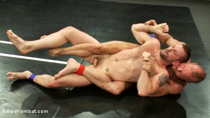 Photo number 1 from Two HOT Muscle Men Duke it Out shot for Naked Kombat on Kink.com. Featuring Morgan Black and Chad Brock in hardcore BDSM & Fetish porn.