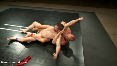 Photo number 2 from Two HOT Muscle Men Duke it Out shot for Naked Kombat on Kink.com. Featuring Morgan Black and Chad Brock in hardcore BDSM & Fetish porn.
