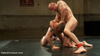 Photo number 13 from Two HOT Muscle Men Duke it Out shot for Naked Kombat on Kink.com. Featuring Morgan Black and Chad Brock in hardcore BDSM & Fetish porn.