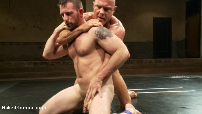 Photo number 4 from Two HOT Muscle Men Duke it Out shot for Naked Kombat on Kink.com. Featuring Morgan Black and Chad Brock in hardcore BDSM & Fetish porn.