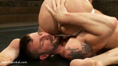 Photo number 6 from Two HOT Muscle Men Duke it Out shot for Naked Kombat on Kink.com. Featuring Morgan Black and Chad Brock in hardcore BDSM & Fetish porn.