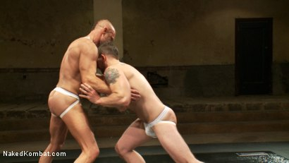 Photo number 8 from Two HOT Muscle Men Duke it Out shot for Naked Kombat on Kink.com. Featuring Morgan Black and Chad Brock in hardcore BDSM & Fetish porn.