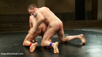 Photo number 10 from Two HOT Muscle Men Duke it Out shot for Naked Kombat on Kink.com. Featuring Morgan Black and Chad Brock in hardcore BDSM & Fetish porn.