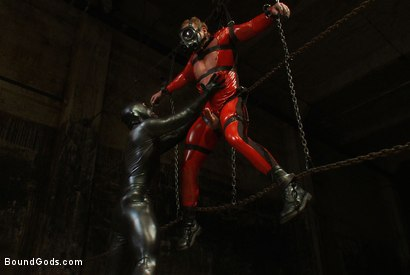 Photo number 1 from Onyx and Redz Once More shot for Bound Gods on Kink.com. Featuring Derek Pain and Josh West in hardcore BDSM & Fetish porn.
