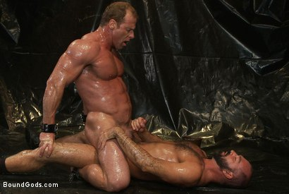 Photo number 11 from Onyx and Redz Once More shot for Bound Gods on Kink.com. Featuring Derek Pain and Josh West in hardcore BDSM & Fetish porn.