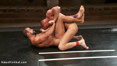Photo number 10 from Gavin Waters vs. Roman Wright shot for Naked Kombat on Kink.com. Featuring Gavin Waters and Roman Wright in hardcore BDSM & Fetish porn.