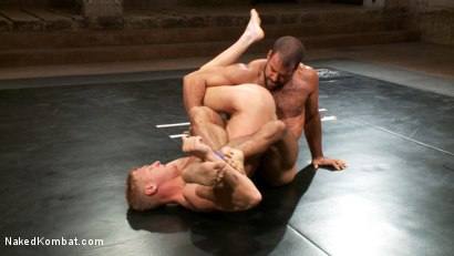 Photo number 14 from Gavin Waters vs. Roman Wright shot for Naked Kombat on Kink.com. Featuring Gavin Waters and Roman Wright in hardcore BDSM & Fetish porn.