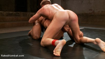 Photo number 15 from Gavin Waters vs. Roman Wright shot for Naked Kombat on Kink.com. Featuring Gavin Waters and Roman Wright in hardcore BDSM & Fetish porn.