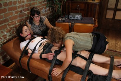 Photo number 5 from The Doctor Is In shot for Wired Pussy on Kink.com. Featuring Bobbi Starr, Sarah Shevon and Kristina Rose in hardcore BDSM & Fetish porn.