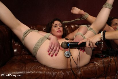 Photo number 12 from The Doctor Is In shot for Wired Pussy on Kink.com. Featuring Bobbi Starr, Sarah Shevon and Kristina Rose in hardcore BDSM & Fetish porn.