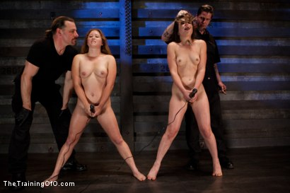 Photo number 7 from Five Girl Intake<br>The Elimination Begins shot for The Training Of O on Kink.com. Featuring Juliette March, Eden Coxxx, Alexxa Bound, Maxine Holloway and Dana Vixen in hardcore BDSM & Fetish porn.