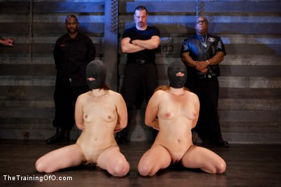 Photo number 8 from Five Girl Intake<br>The Elimination Begins shot for The Training Of O on Kink.com. Featuring Juliette March, Eden Coxxx, Alexxa Bound, Maxine Holloway and Dana Vixen in hardcore BDSM & Fetish porn.