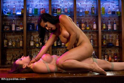 Photo number 8 from Unhappy Hooker shot for Whipped Ass on Kink.com. Featuring Isis Love and Chanel Preston in hardcore BDSM & Fetish porn.