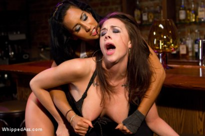 Photo number 3 from Unhappy Hooker shot for Whipped Ass on Kink.com. Featuring Isis Love and Chanel Preston in hardcore BDSM & Fetish porn.