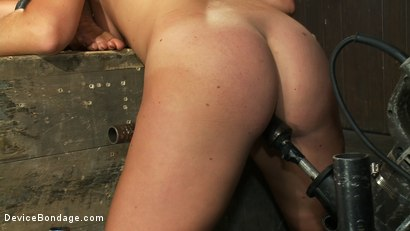 Photo number 14 from Sexy, fit bondage slaves interlocked, machine fucked and pussy smothered shot for Device Bondage on Kink.com. Featuring Dia Zerva and Ariel X in hardcore BDSM & Fetish porn.