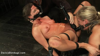 Photo number 14 from Puzzle Perfect - Face fucking, Ass Hook Tugging, Hard Flogging Mayhem shot for Device Bondage on Kink.com. Featuring Dia Zerva and Ariel X in hardcore BDSM & Fetish porn.