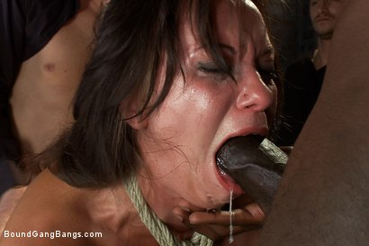 Photo number 9 from Hot Wife is Kidnapped, Bound, Fucked, and Finished off with Anal Creampie shot for Bound Gang Bangs on Kink.com. Featuring Alysa, Mark Davis, Mr. Pete, Mickey Mod, Dietrich Cyrus, Mark Wood and Bobby Bends in hardcore BDSM & Fetish porn.