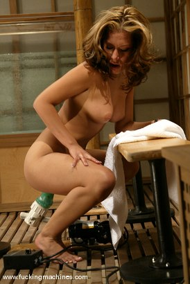 Photo number 9 from Jennifer Luv shot for Fucking Machines on Kink.com. Featuring Jennifer Luv in hardcore BDSM & Fetish porn.