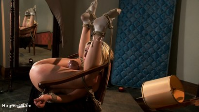 """Photo number 13 from """"Into The Darkness"""": A Hogtied Featured movie. A fantasy BDSM abduction movie starring Rylie Richman shot for Hogtied on Kink.com. Featuring Rylie Richman, Mark Davis, Bella Rossi, Audrey Rose and Rain DeGrey in hardcore BDSM & Fetish porn."""