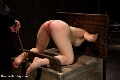Photo number 4 from Big Breasts, Big Mouth, Big Orgasms shot for Device Bondage on Kink.com. Featuring Annika in hardcore BDSM & Fetish porn.