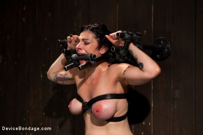 Photo number 12 from Big Breasts, Big Mouth, Big Orgasms shot for Device Bondage on Kink.com. Featuring Annika in hardcore BDSM & Fetish porn.