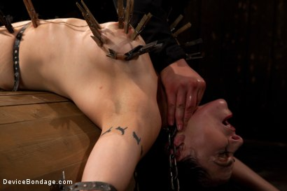 Photo number 9 from Big Breasts, Big Mouth, Big Orgasms shot for Device Bondage on Kink.com. Featuring Annika in hardcore BDSM & Fetish porn.