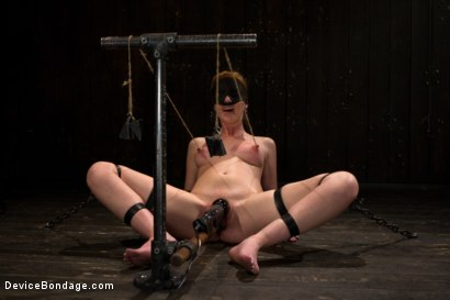 Photo number 3 from Red Hair Fair Skin - finger fucked, machine fucked, extreme nipple play, hot wax, hard caning. shot for Device Bondage on Kink.com. Featuring Marie McCray in hardcore BDSM & Fetish porn.