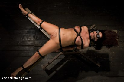 Photo number 11 from Mature Alert: Curvaceous first timer  shot for Device Bondage on Kink.com. Featuring Magdalene St. Michaels in hardcore BDSM & Fetish porn.