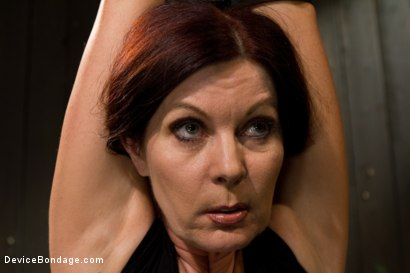 Photo number 3 from Mature Alert: Curvaceous first timer  shot for Device Bondage on Kink.com. Featuring Magdalene St. Michaels in hardcore BDSM & Fetish porn.