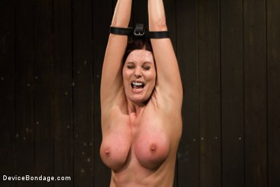 Photo number 4 from Mature Alert: Curvaceous first timer  shot for Device Bondage on Kink.com. Featuring Magdalene St. Michaels in hardcore BDSM & Fetish porn.