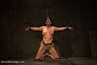 Photo number 5 from Mature Alert: Curvaceous first timer  shot for Device Bondage on Kink.com. Featuring Magdalene St. Michaels in hardcore BDSM & Fetish porn.