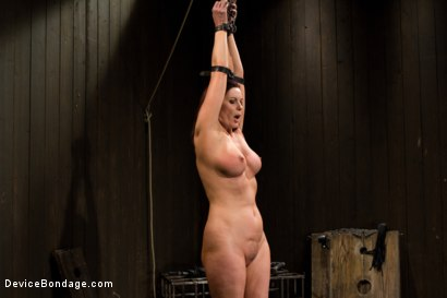 Photo number 1 from Mature Alert: Curvaceous first timer  shot for Device Bondage on Kink.com. Featuring Magdalene St. Michaels in hardcore BDSM & Fetish porn.