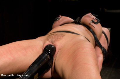Photo number 15 from Mature Alert: Curvaceous first timer  shot for Device Bondage on Kink.com. Featuring Magdalene St. Michaels in hardcore BDSM & Fetish porn.