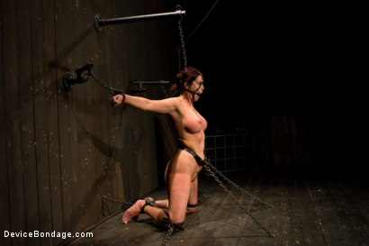 Photo number 6 from Mature Alert: Curvaceous first timer  shot for Device Bondage on Kink.com. Featuring Magdalene St. Michaels in hardcore BDSM & Fetish porn.